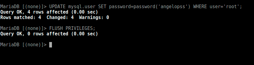 Reset-the-root-password