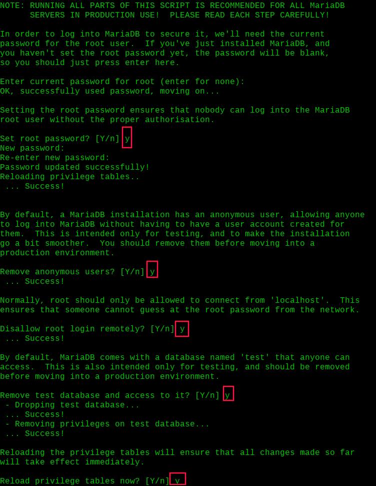 Secure-MariaDB-Installation-on-RHEL-8