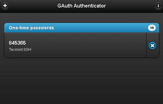 Google-Authenticator-One-Time-Password