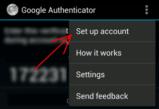 Google-Authenticator-Setup-Account