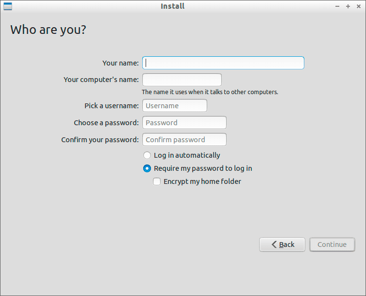 Create-Lubuntu-User