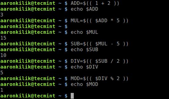 do-simple-math-in-cli-using-double-parenthesis - 5 способов расчета арифметики в терминале Linux
