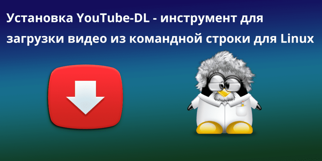 instal youtube dl - Установка YouTube-DL