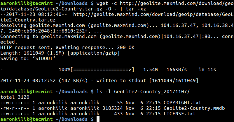 Download-and-Extract-File-with-Wget