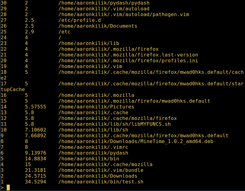 Fasd-Search-Recent-Files