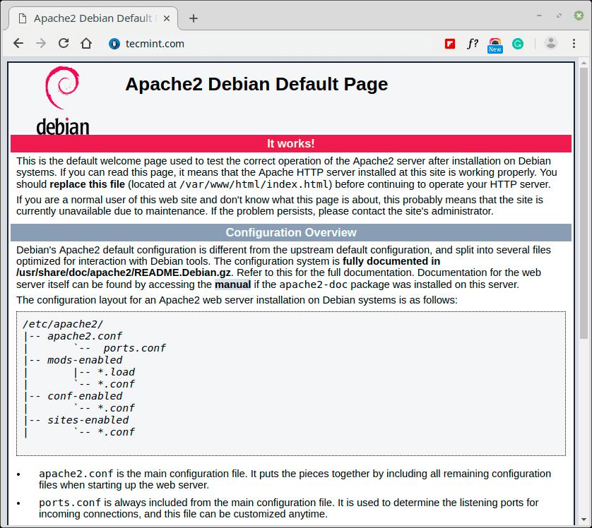 Check-Apache-Web-Page