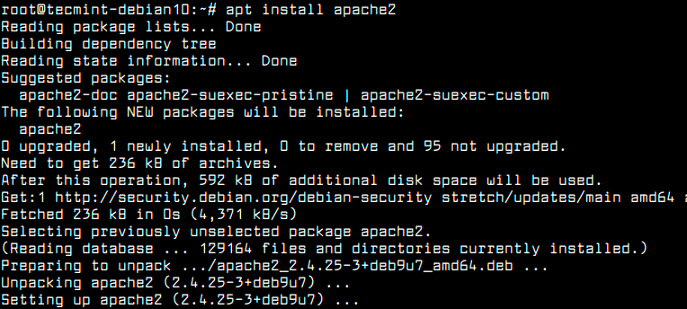 Install-Apache-on-Debian-10