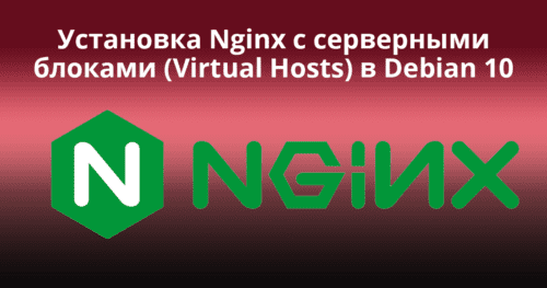Install-Nginx-with-Server-Blocks-(Virtual-Hosts)-on-Debian-10