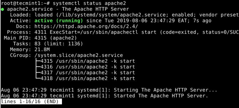 Check-Apache2-Status - PgAdmin 4