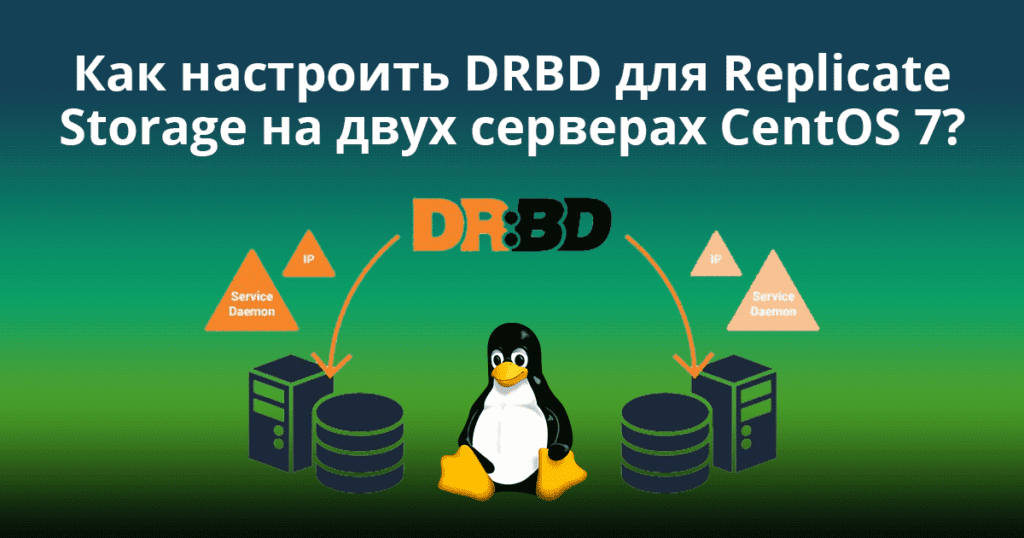 How-to-Setup-DRBD-to-Replicate-Storage-on-Two-CentOS-7-Servers