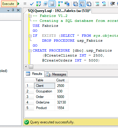Create-a-Sample-SQL-Database