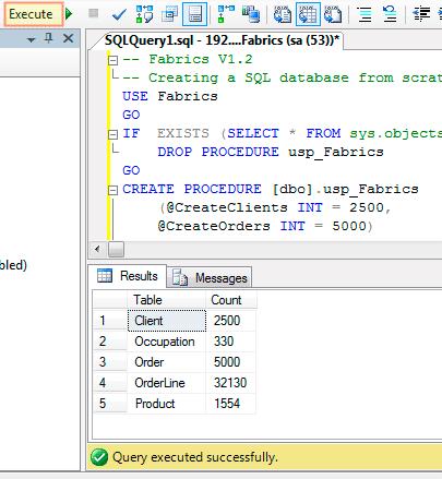 Create-a-Sample-SQL-Database