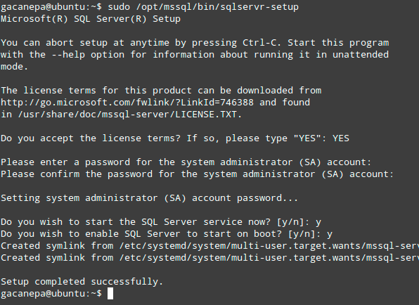 SQL-Server-Setup-on-Linux