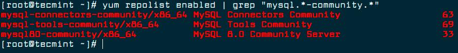 Verify-MySQL-Yum-Repository