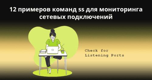 12 примеров команд ss для мониторинга сетевых подключений