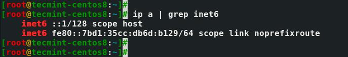 Check-IPv6-Status-in-CentOS-8