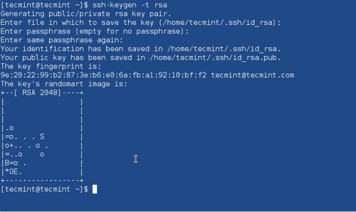 Create_ssh_RSA_key - Как настроить вход без пароля с помощью SSH ключа