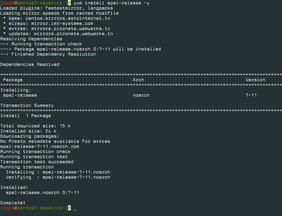 Install-EPEL-Repo-in-CentOS-7