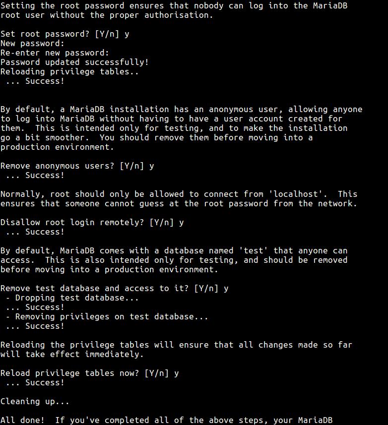 Secure-MySQL-Installation - 12 Рекомендаций по безопасности в MySQL / MariaDB для Linux