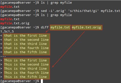 Sed-Edit-and-Backup-Original-File - 15 полезных советов для системного администрирования Linux