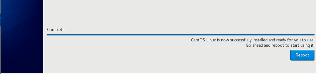 CentOS-8-Installation-Complete