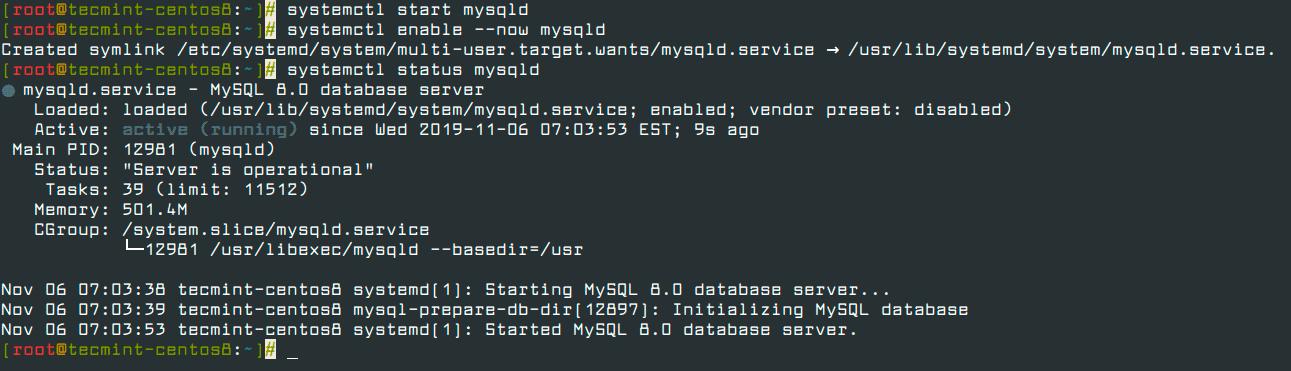 Manage-MySQL-Service-in-CentOS-8