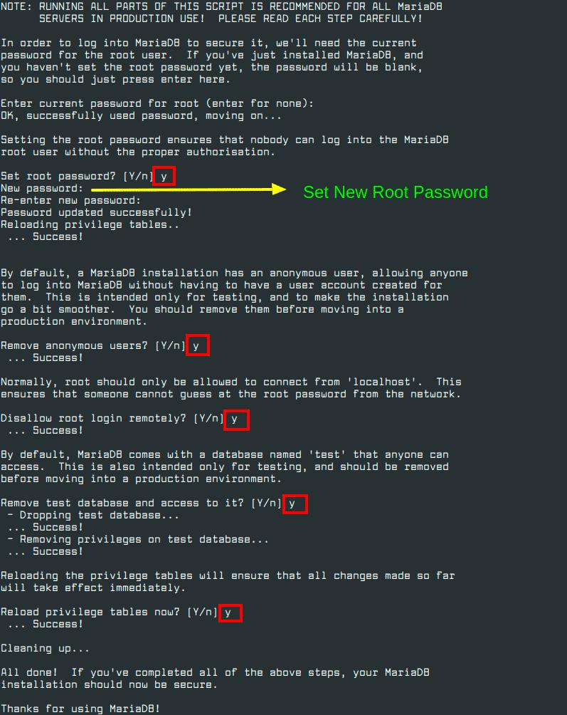 Secure-MariaDB-in-CentOS-8