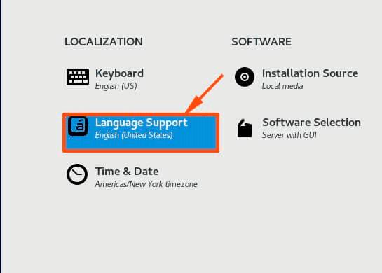 Select-Language-Option