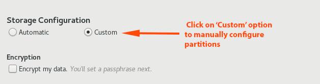Select-Manual-Partitioning
