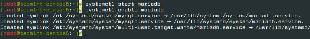 Start-and-Enable-MariaDB-Service