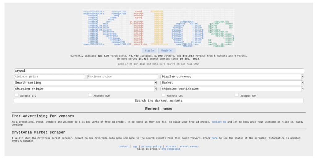 Новая поисковая система Kilos появилась в даркнете, курс по кибербезопасности секреты хакеров Красноярск
