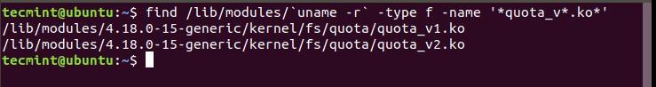 Check-Quota-Kernel-Modules