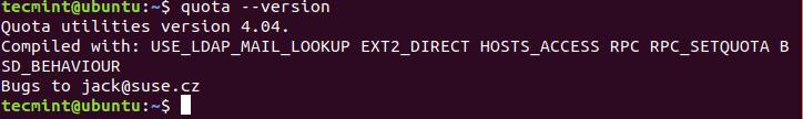 Check-Quota-Version-in-Ubuntu