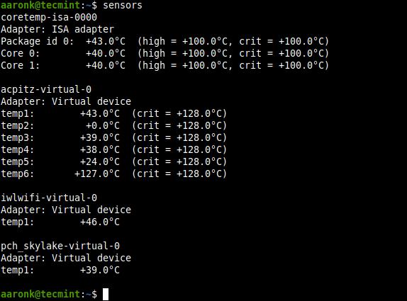 Check-CPU-and-GPU-Temperature-using-sensors