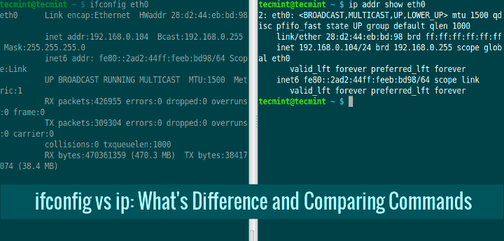 Ifconfig-Vs-IP-Command