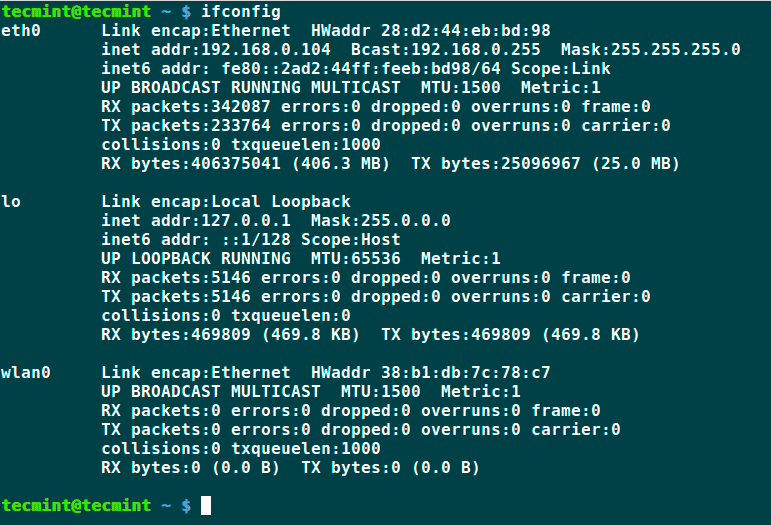 ifconfig-Check-IP-Address