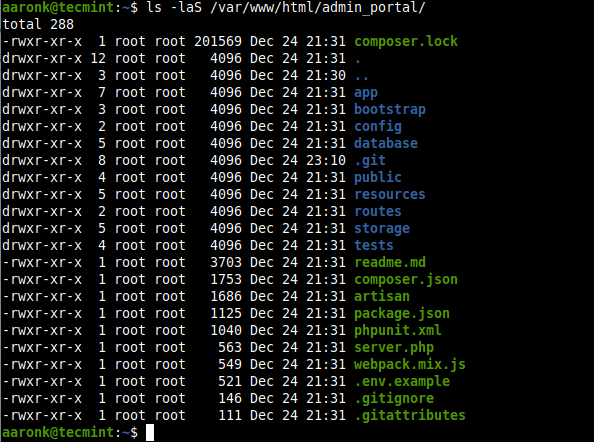 list-all-files-sort-by-size