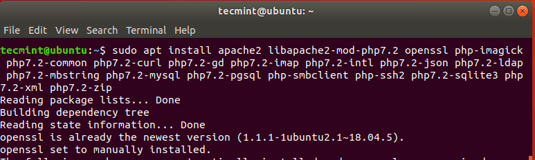 Install-Apache-and-PHP-in-Ubuntu