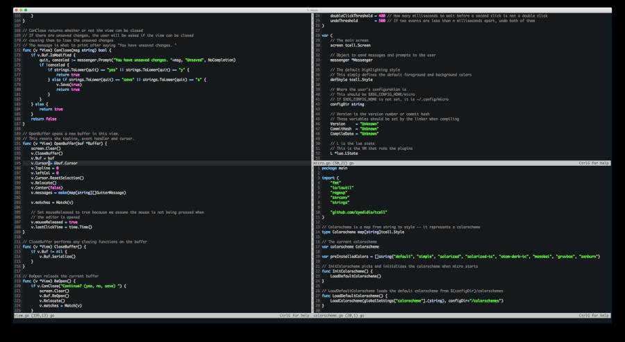 Micro-Terminal-Text-Editor
