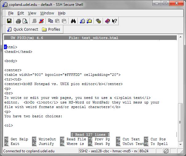 Pico - 21 лучший текстовый редактор с открытым исходным кодом (GUI + CLI) в 2020 году