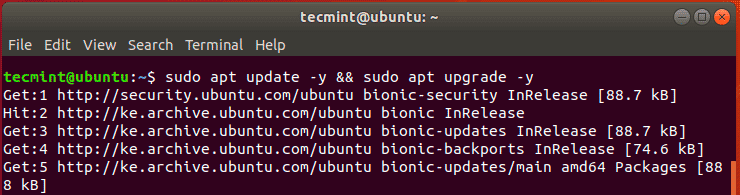 Update-Ubuntu-System-Packages