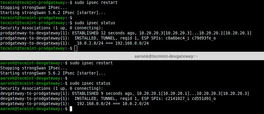 View-IPSec-Connection-Status