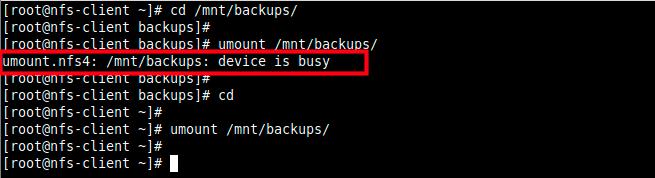 NFS-Mount-Error - Как настроить NFS-сервер и клиент на CentOS 8?