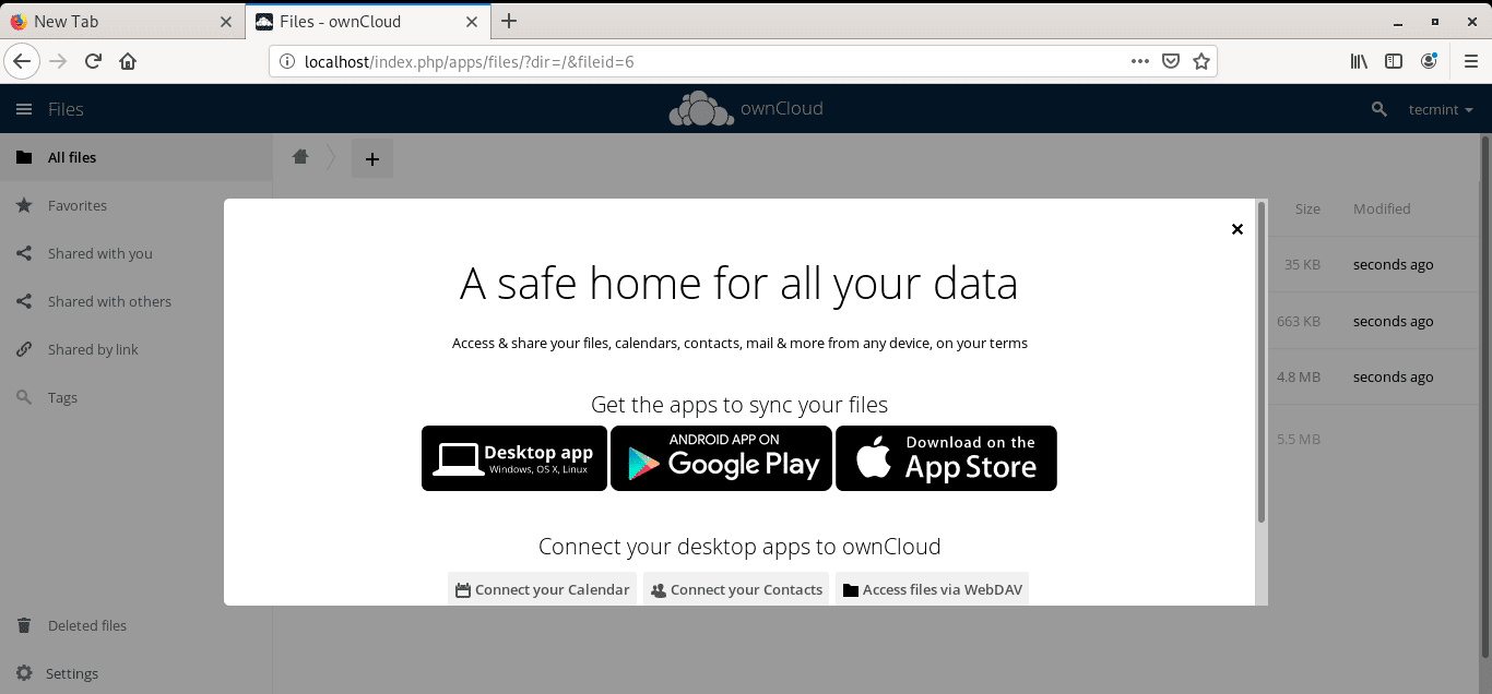 OwnCloud-Device-Apps
