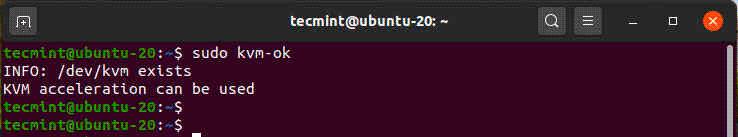 Check-KVM-Support-in-Ubuntu