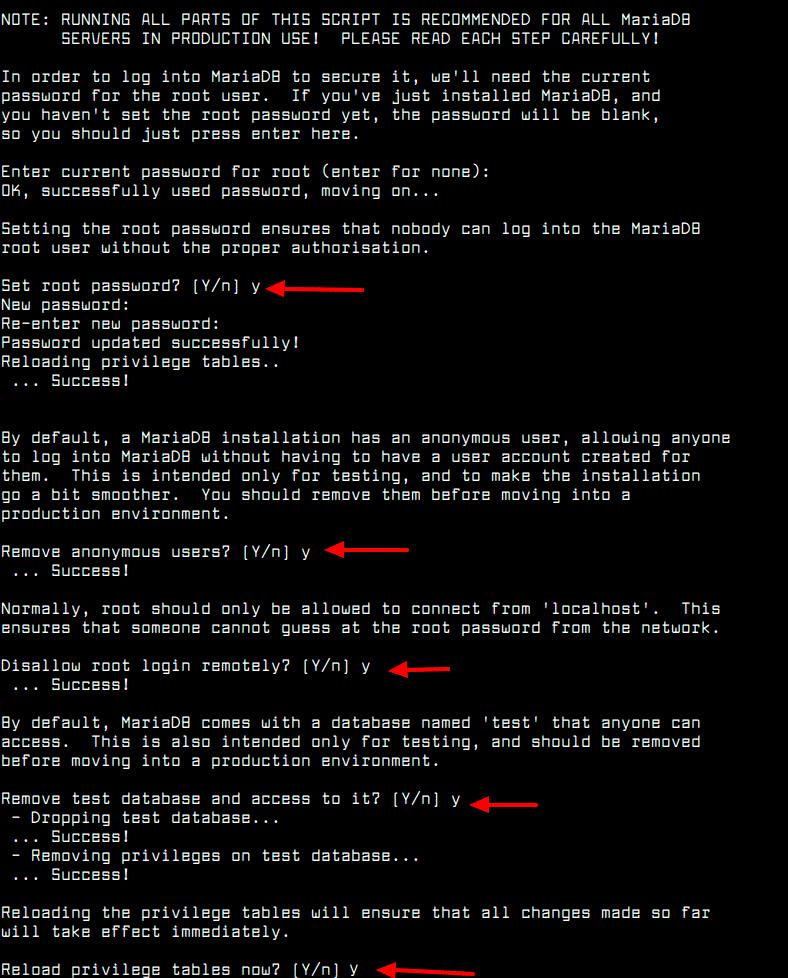 Secure-MariaDB-in-Debian-10