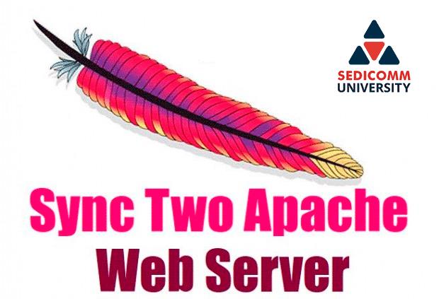 Как синхронизировать два веб-сервера Apache с помощью Rsync?