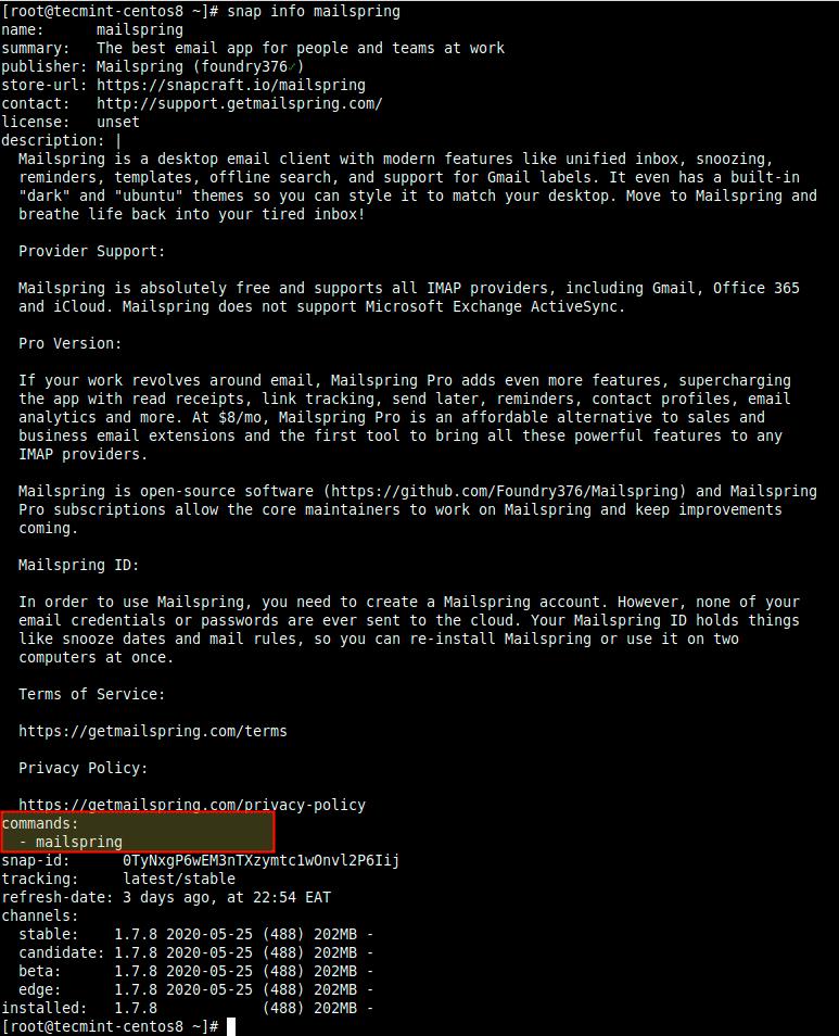 Как управлять Snaps в Linux