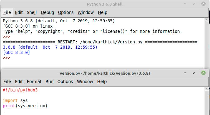 Write-First-Python-Program