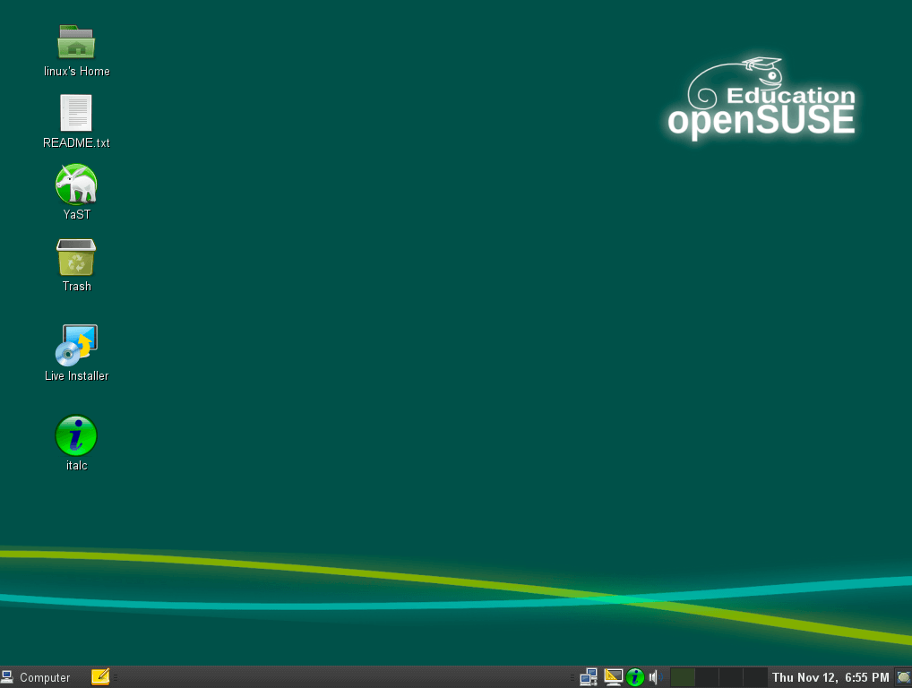 openSUSE-Education-Li-f-e